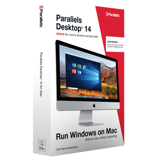 Parallels Desktop 14 Standard Edition for Mac (Download, 1-Year License)
