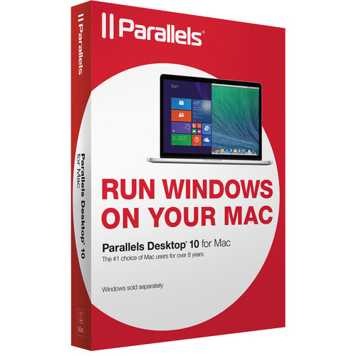 Parallels Desktop 10 for Mac (OEM CD-ROM)