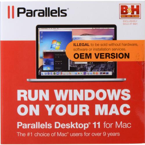 Parallels Desktop 11 for Mac (OEM)
