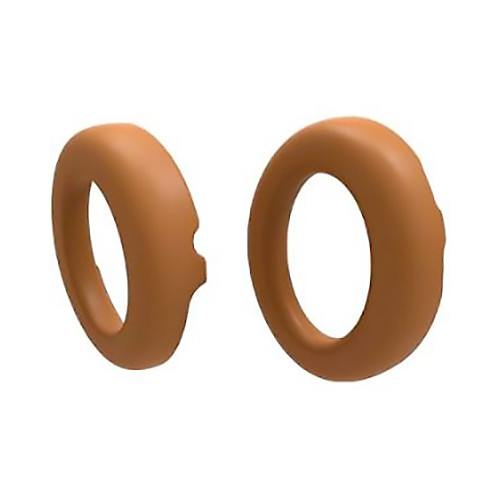 Parrot Spare Ear Cushions for Zik 3 Headphones (Leather Grain, Camel Brown)