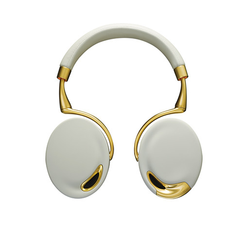 Parrot Parrot Zik Bluetooth Headphones (White with Yellow Gold)