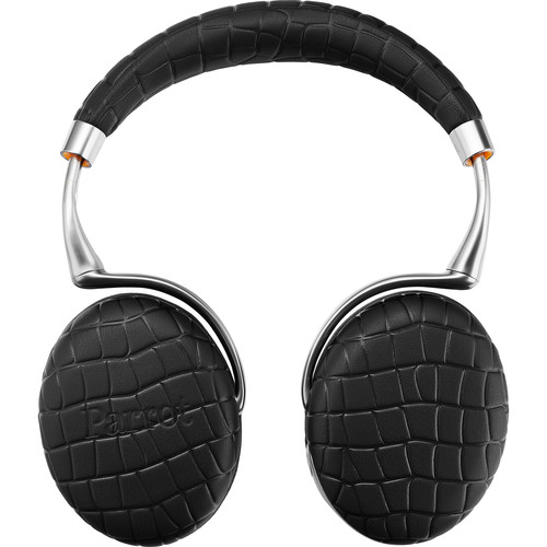 Parrot Zik 3.0 Stereo Bluetooth Headphones & Wireless Charger (Black, Croc)