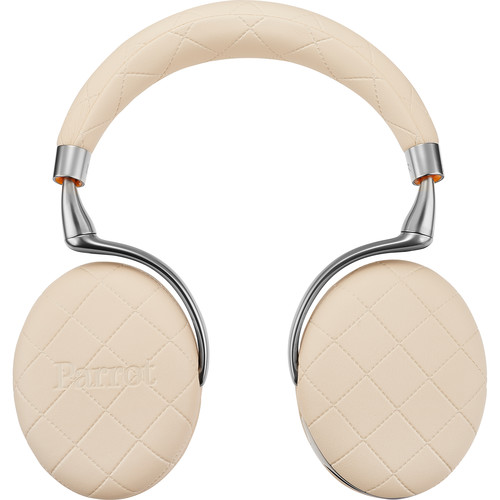 Parrot Zik 3.0 Stereo Bluetooth Headphones & Wireless Charger (Ivory, Overstitched)