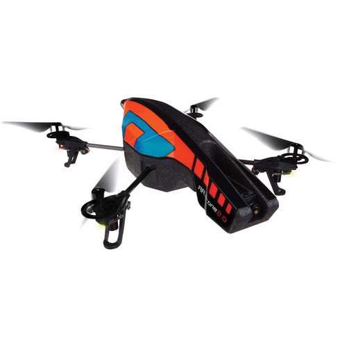Parrot AR.Drone 2.0 Quadcopter (Blue/Orange)