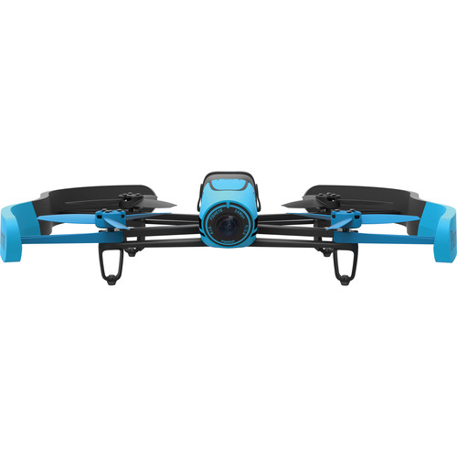 Parrot BeBop Drone Quadcopter with 14-Megapixel Flight Camera (Blue)