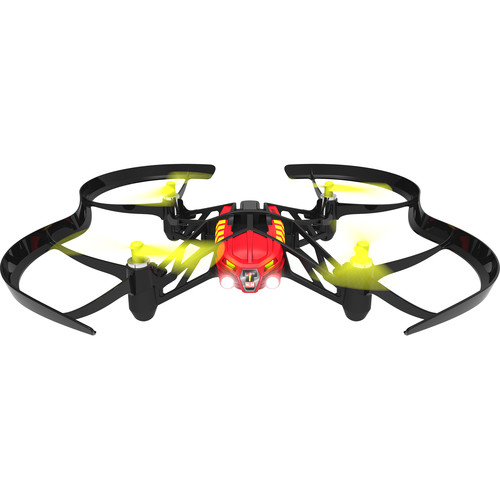 Parrot Blaze Airborne Night Minidrone (Red)
