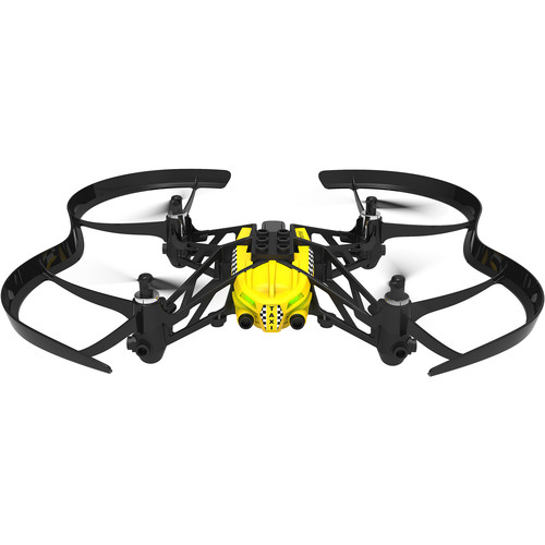 Parrot Travis Airborne Cargo Minidrone (Yellow with Black Rotors)