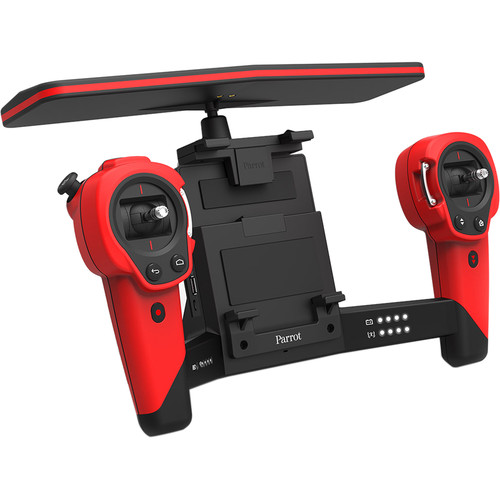 Parrot Skycontroller with Wi-Fi Range Extender for BeBop Drone (Red)