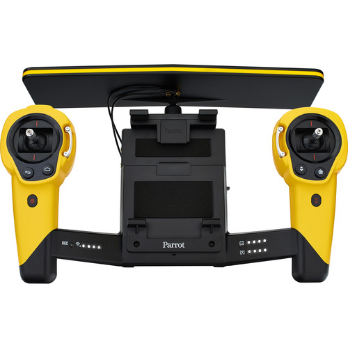 Parrot Skycontroller with Wi-Fi Range Extender for BeBop Drone (Yellow)
