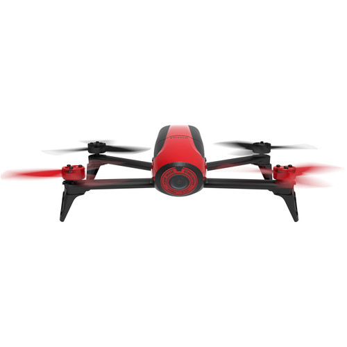 Parrot BeBop 2 Drone with 14 Megapixel Flight Camera (Red)
