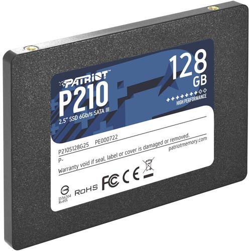 "Patriot 128GB P210 Sata III 2.5"" SSD"