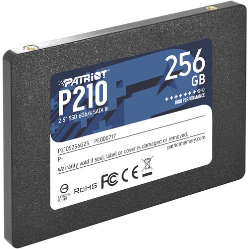 "Patriot 256GB P210 Sata III 2.5"" SSD"