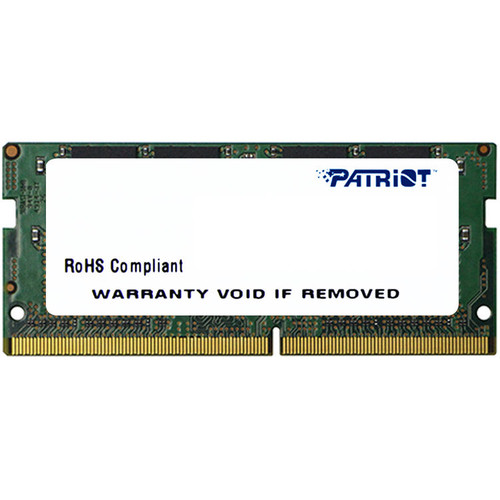 Patriot 8GB Signature Line Series DDR4 2400 MHz SODIMM Memory Module