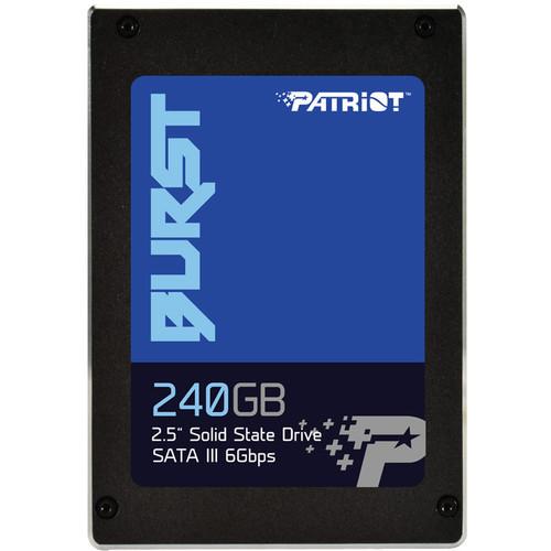 """Patriot 240GB Burst SATA III 2.5"""" Internal SSD"""