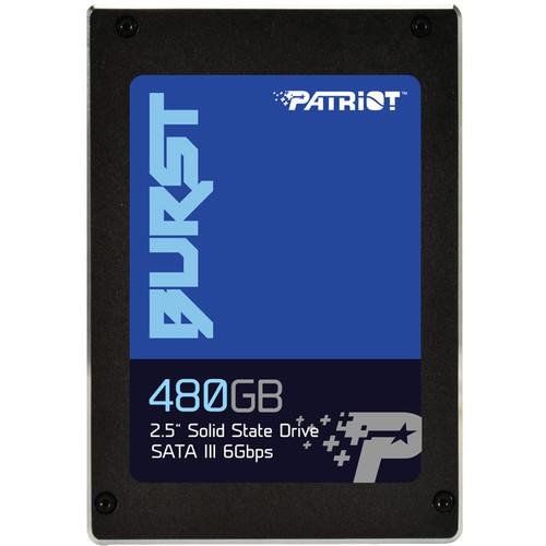 """Patriot 480GB Burst SATA III 2.5"""" Internal SSD"""