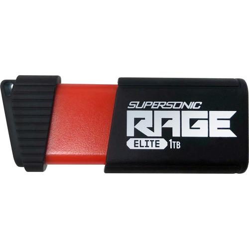 Patriot Supersonic Series Rage Elite 1TB USB 3.1 Gen 1 Flash Drive