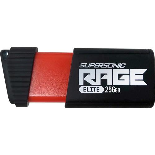 Patriot Supersonic Series Rage Elite 256GB USB 3.1 Gen 1 Flash Drive