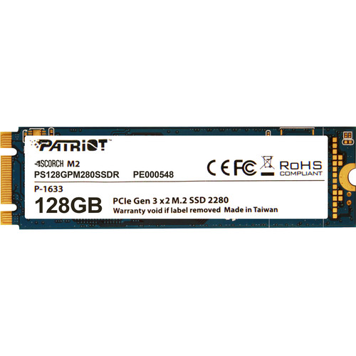 Patriot Scorch M.2 PCIe Solid State Drive (128GB)
