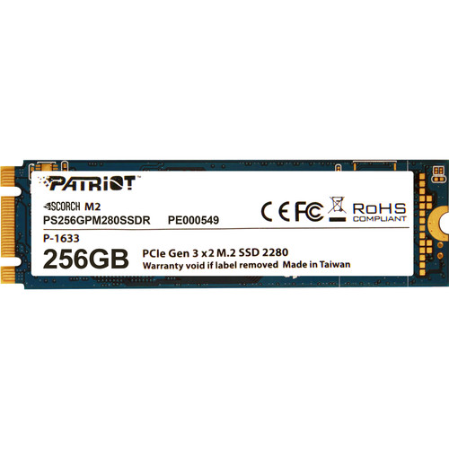 Patriot Scorch M.2 PCIe Solid State Drive (256GB)