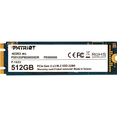 Patriot Scorch M.2 PCIe Solid State Drive (512GB)
