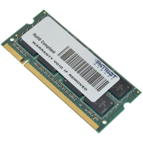Patriot Signature 1GB DDR2 PC2-5300 SODIMM Memory Module