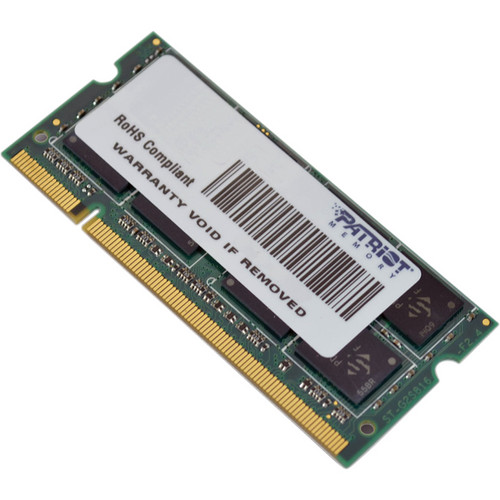 Patriot 4GB Signature Series DDR2 800 MHz SO-DIMM Memory Module