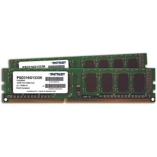 Patriot Signature Line 16GB (2 x 8GB) DDR3 Memory Module Kit
