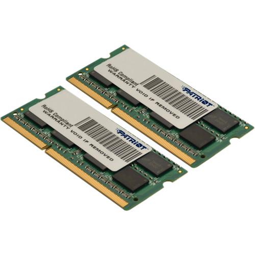 Patriot 16GB Signature Series DDR3 1333 MHz SODIMM Memory Kit (2 x 8GB)