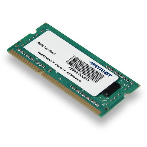 Patriot 2GB Signature Line DDR3L PC3-12800 SO-DIMM Memory Module