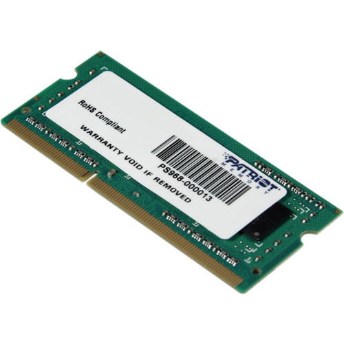 Patriot Signature Line 4GB DDR3 PC3-10600 1333 MHz SODIMM Memory Module