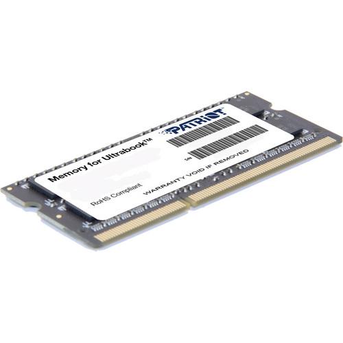Patriot Signature Series 4GB DDR3 PC3-12800 1600 MHz SR SO-DIMM Memory Module (1.35V)