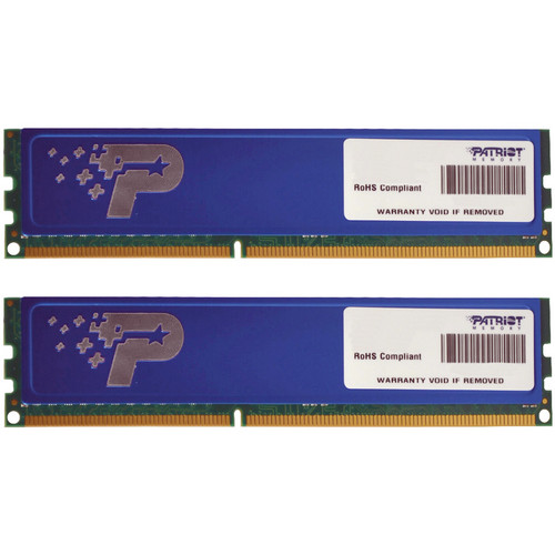 Patriot Signature Line 8GB (2 x 4GB) DDR3 DIMM Memory Kit with Heat Shield