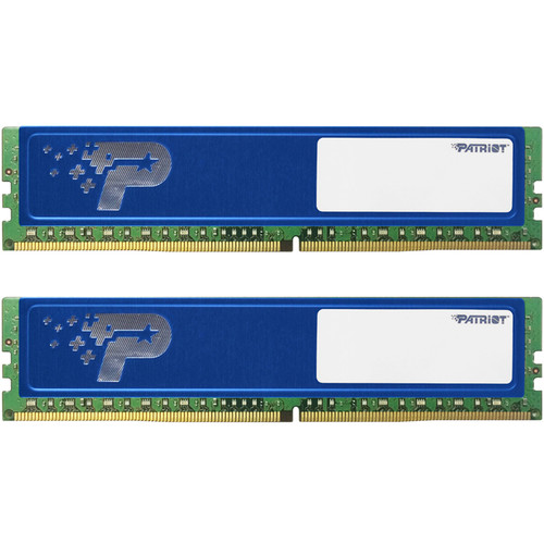 Patriot 16GB DDR4 2400 MHz UDIMM Memory Kit with Heatshield (2 x 8GB)