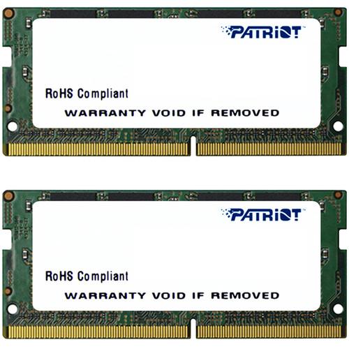 Patriot 16GB Signature Line DDR4 2666 MHz DR SO-DIMM Memory Kit (2 x 8GB)