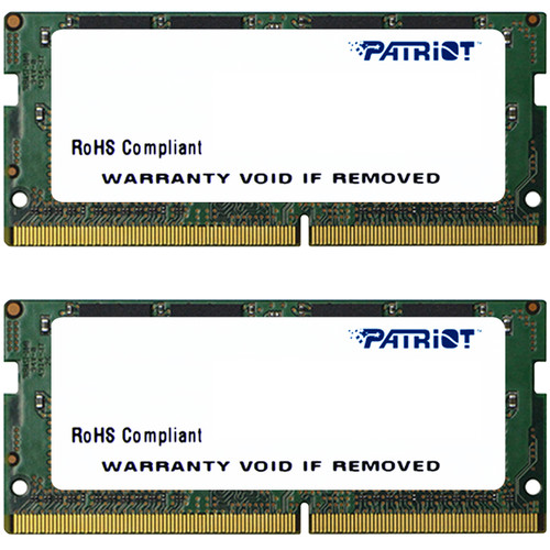 Patriot 32GB Signature Line DDR4 2133 MHz SO-DIMM Memory Kit (2 x 16GB)