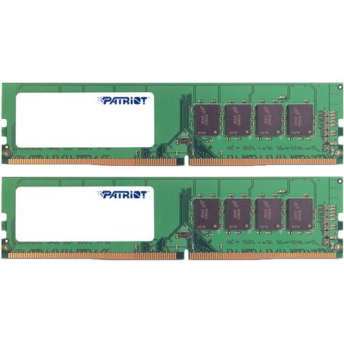 Patriot Signature Line 32GB DDR4 SR 2666 MHz CL19 UDIMM Memory Kit (2 x 16GB)