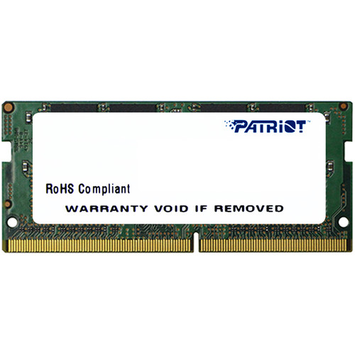 Patriot Signature Line 4GB DDR4 2400 MHz SO-DIMM Memory Module (Single Rank)