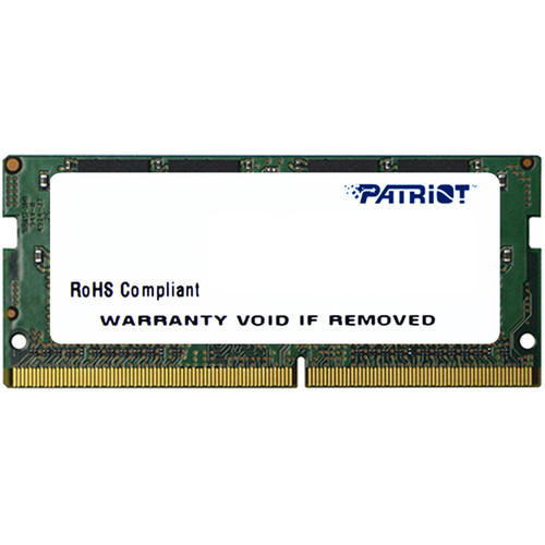Patriot 8GB Signature Line DDR4 2133 MHz SO-DIMM Memory Module