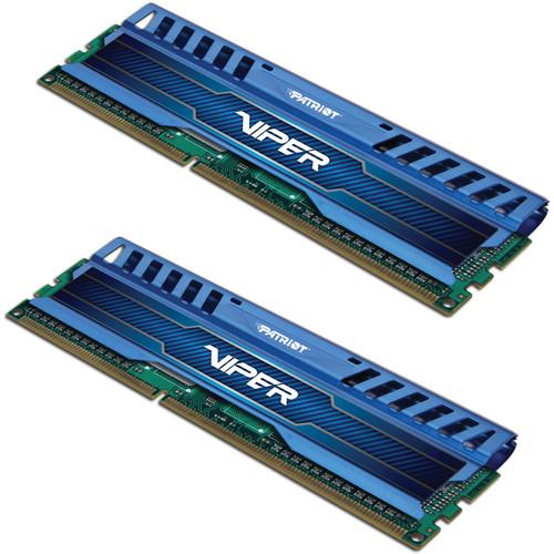 Patriot Viper 3 16GB (2 x 8GB) DDR3 2400 MHz Memory Kit (Sapphire Blue)