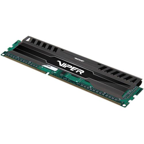 Patriot Viper 3 8GB DDR3 PC3-12800 1600 MHz Memory Module (Black Mamba)