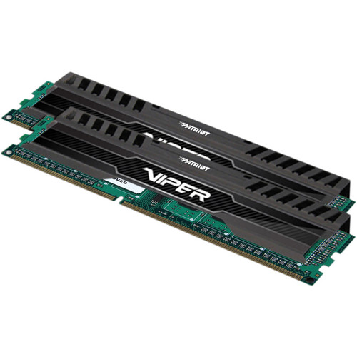 Patriot Viper 3 8GB (2 x 4GB) DDR3 CL10 1600 MHz Memory Kit (Black Mamba)