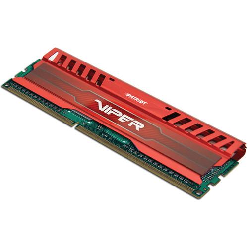 Patriot Viper 3 8GB DDR3 PC3-12800 1600 MHz Memory Module (Venom Red)