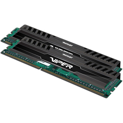 Patriot Viper 3 8GB (2 x 4GB) DDR3 CL9 1600 MHz Memory Kit (Black Mamba)