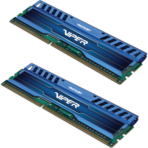 Patriot Viper 3 8GB (2 x 4GB) DDR3 CL9 1866 MHz Memory Kit (Sapphire Blue)