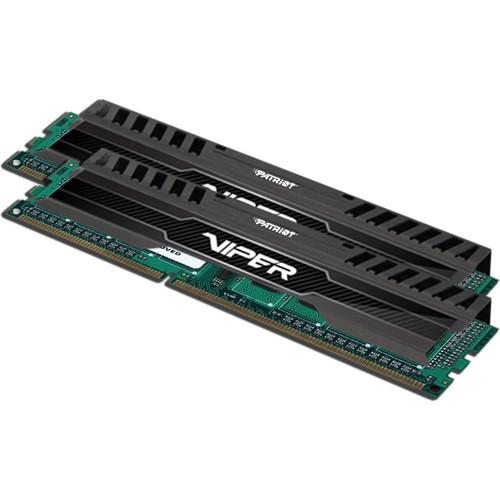 Patriot Viper 3 8GB (2 x 4GB) DDR3 2400 MHz Memory Kit (Black Mamba)