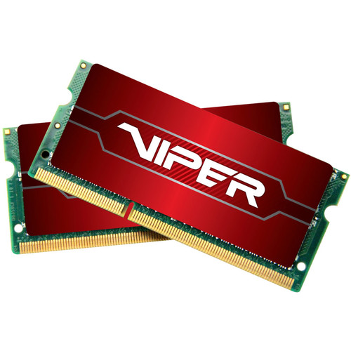 Patriot 16GB Viper Series DDR4 2666 MHz SODIMM Memory Kit (2 x 8GB)