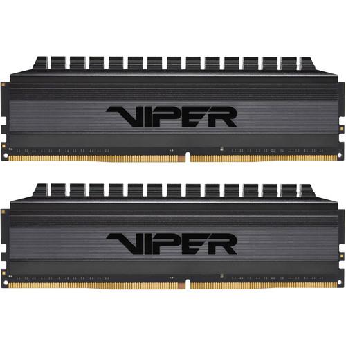 Patriot Viper 4 Blackout Series 16GB DDR4 3200 MHz UDIMM Memory Kit (2 x 8GB)