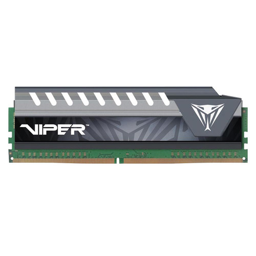 Patriot 8GB Viper Elite Series Extreme Performance DDR4 PC4-17000 (2133 MHz) UDIMM Memory Module (Black/Gray)