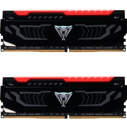 Patriot 16GB Viper Red LED Series DDR4 2400 MHz DIMM Memory Kit (2 x 8GB)