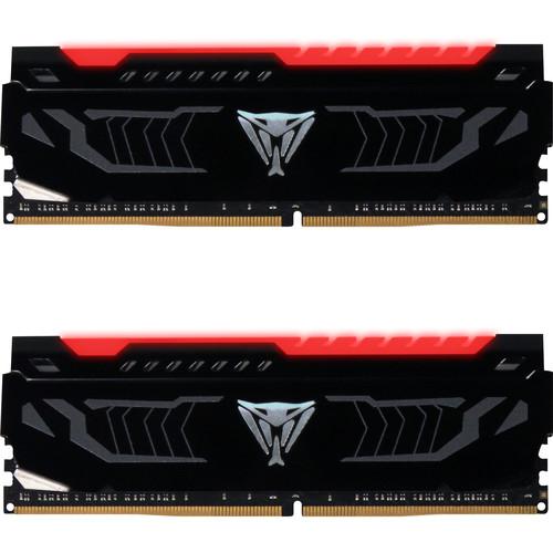 Patriot 16GB Viper Red LED Series DDR4 2666 MHz DIMM Memory Kit (2 x 8GB)